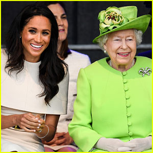 Duchess Meghan Markle Makes First Official Visit with Queen Elizabeth!