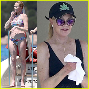 Melanie Griffith Rocks Bikini on Vacation in Sardinia!
