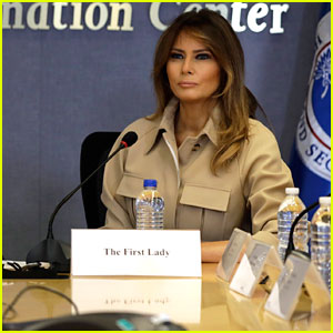Melania Trump Photographed for First Time in 27 Days