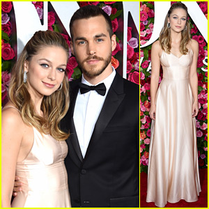 Melissa Benoist & Chris Wood Make Red Carpet Couple Debut at Tony Awards 2018!