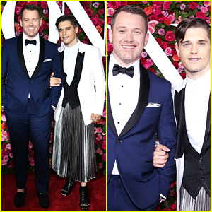 Andy Mientus Supports Husband Michael Arden at Tony Awards 2018