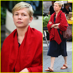 Michelle Williams Films 'After the Wedding' in NYC