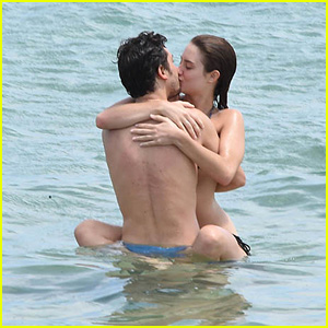Nat Wolff & Grace Van Patten Pack on the PDA on Vacation in Sardinia!
