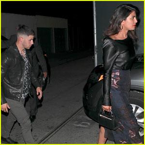 Priyanka Chopra & Nick Jonas Enjoy a Dinner Date in L.A.