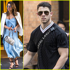 Priyanka Chopra & Nick Jonas Meet Up for NYC Dinner Date!