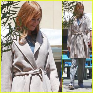 Nicole Kidman Heads to Set to Film on Her Birthday!