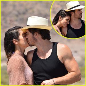 Ian Somerhalder & Nikki Reed's Romantic Beach Pics Need to Be Seen!