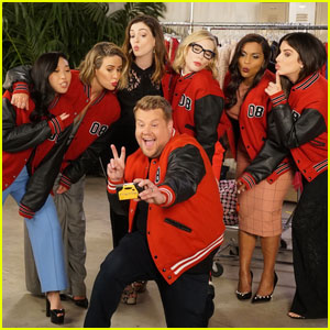 'Ocean's 8' Cast Remember the Good Times With James Corden - Watch Now!