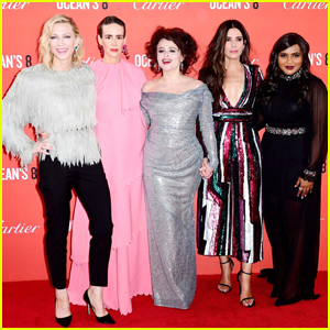'Ocean's 8' Cast Reunite in London for European Premiere!
