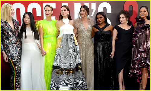 'Ocean's 8' Premiere - See All Eight Actresses on the Red Carpet!
