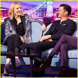 Orlando Bloom Admits to Cate Blanchett That He Had a Crush on Her During 'Lord of the Rings' - Watch Here!