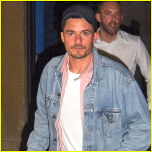 Orlando Bloom Heads Home After 'Killer Joe' Performance