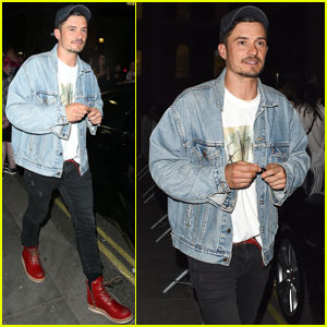 Orlando Bloom Steps Out After Another 'Killer Joe' Performance