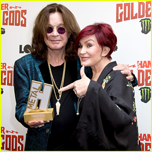 Ozzy Osbourne Wins Lifetime Achievement Award at Metal Hammer Golden God Awards 2018 in London