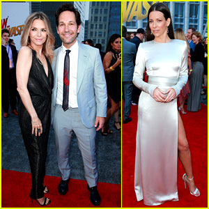 Paul Rudd, Evangeline Lilly, & Michelle Pfeiffer Premiere 'Ant-Man & the Wasp!'
