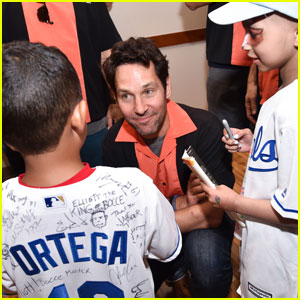 Paul Rudd Hosts Big Slick Celebrity Weekend to Benefit Children's Mercy Hospital!
