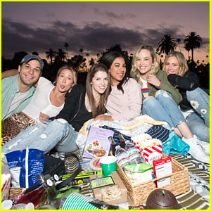 'Pitch Perfect' Cast Mates Catch Cinespia Screening of 'Raiders of the Lost Ark'