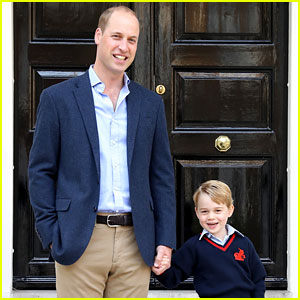 Prince William Reveals How He Got 'Street Cred' with Prince George