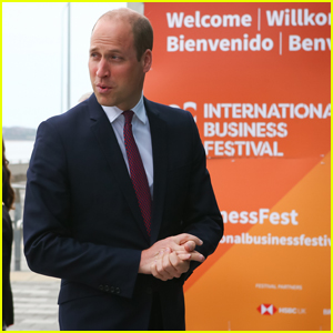Prince William Skips Royal Ascot Day for Liverpool's International Business Festival