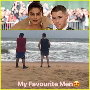 Priyanka Chopra Says Nick Jonas Is One of Her 'Favorite Men'
