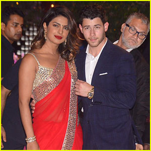 Priyanka Chopra & Nick Jonas Attended an Engagement Party During Their Trip to India!