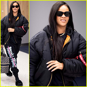 Rihanna Catches Flight Out of NYC as 'Ocean's 8' Hits Theaters