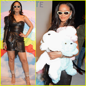 Rihanna Hosts 'Savage x Fenty' Pop-Up Shop in London!