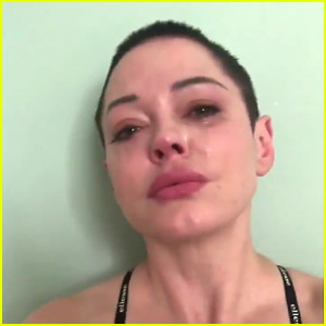 Rose McGowan Cries Angry Tears After Losing Friend Anthony Bourdain in Video Message - Watch