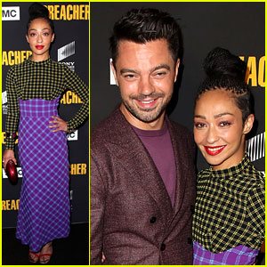 Ruth Negga & Dominic Cooper Reunite at 'Preacher' Premiere After Rumored Split