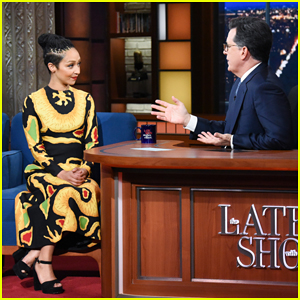 Ruth Negga Explains Her 'Shy Attention Seeker' Additude on 'The Late Show'