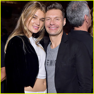 Ryan Seacrest & Girlfriend Shayna Taylor Couple Up at Casamigos Party