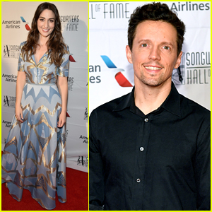Sara Bareilles & Jason Mraz Step Out for Songwriters Hall of Fame Gala 2018!