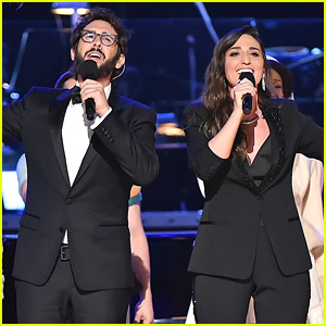 Sara Bareilles & Josh Groban Sing a Song for the Losers During Tony Awards 2018 Opening (Video)