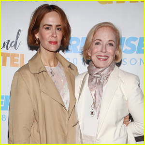 Sarah Paulson & Holland Taylor Step Out for 'Sweet Charity' Opening!