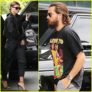 Scott Disick & Sofia Richie Grab Lunch in Beverly Hills