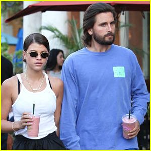 Scott Disick & Sofia Richie Step Out for Smoothies in Calabasas