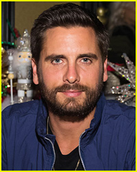 Scott Disick Gets Close to Mystery Woman at Kanye West's Album Listening Party