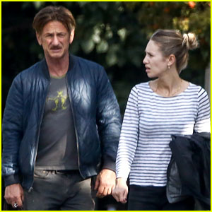 Sean Penn Spends Father's Day with Daughter Dylan Penn