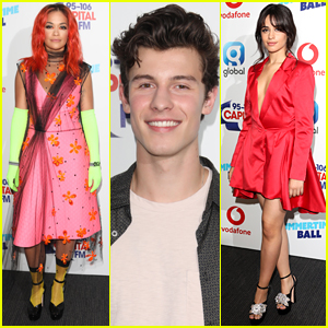 Shawn Mendes Joins Rita Ora & Camila Cabello at Capital Summertime Ball!