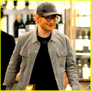 Ed Sheeran Hangs With Friends at a Hotel Wine Bar in Liverpool!
