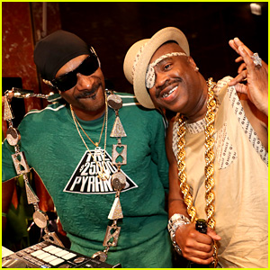 Snoop Dogg Guest DJs at 30th Anniversary of 'The Great Adventures of Slick Rick' Celebration at Bally!