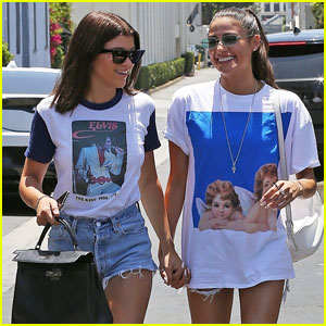 Sofia Richie Holds Hands With a Gal Pal After Lunch in LA!