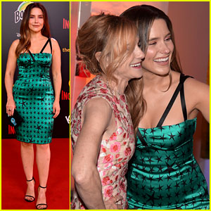 Sophia Bush Joins 'Incredibles 2' Co-Stars at L.A. Premiere!