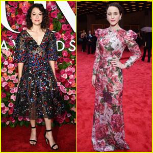 Tatiana Maslany & Rachel Brosnahan Get Glam at Tony Awards 2018