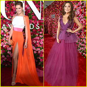 Mean Girls' Taylor Louderman & Ashley Park Have Fashion Moments at Tony Awards 2018!