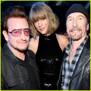 Taylor Swift Gets Surprise Roses From U2 Ahead of Dublin Shows