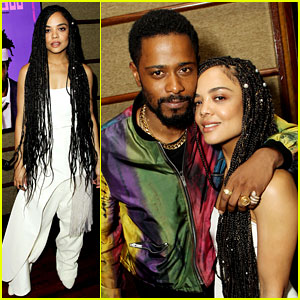 Tessa Thompson & Lakeith Stanfield Screen Their Movie 'Sorry to Bother You' for NYC Tastemakers!