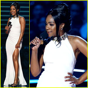 Tiffany Haddish Wears Her Alexander McQueen Again for MTV Movie & TV Awards 2018!