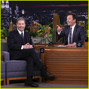 John Travolta Teaches Jimmy Fallon the Iconic 'Grease' Dance - Watch!