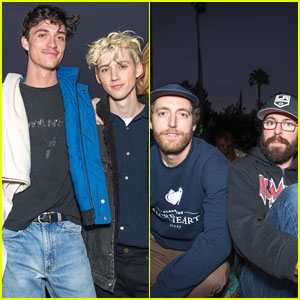 Troye Sivan, Thomas Middleditch & More Attend Cinespia Screening of 'Alien'